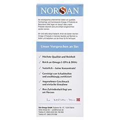 NORSAN Omega-3 Arktis flüssig 200 Milliliter - Rückseite