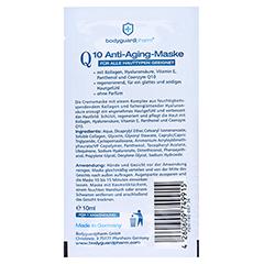 Q10 ANTI-AGING Maske 10 Milliliter - Rückseite