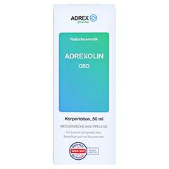 CBD ADREXOLIN Lotion 50 Milliliter - Vorderseite