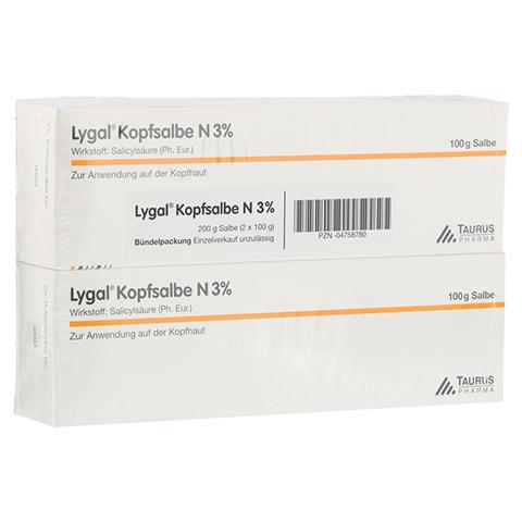 Lygal Kopfsalbe N 3% 200 Gramm