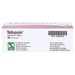 Tebonin konzent 240mg 80 Stück - Unterseite