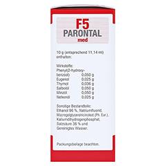 Parontal F5 med 100 Milliliter - Linke Seite
