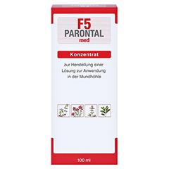 Parontal F5 med 100 Milliliter - Rückseite