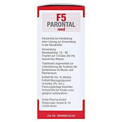 Parontal F5 med 100 Milliliter - Rechte Seite