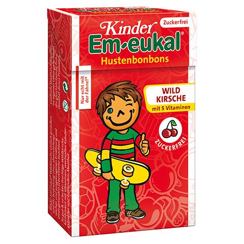 Em-eukal Kinder Bonbons Wildkirsche Minis zuckerfrei 40 Gramm