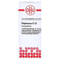 PHYTOLACCA D 12 Globuli 10 Gramm N1 - Vorderseite