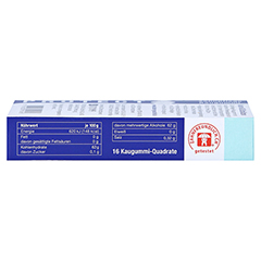 Baders Protect Gum Zahnpflege 16 Stück - Linke Seite