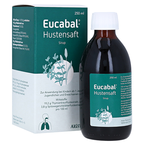 Eucabal-Hustensaft 250 Milliliter N2