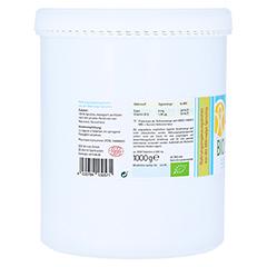 SPIRULINA 500 mg Bio Naturland Tabletten 2000 Stück - Rückseite