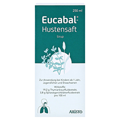 Eucabal-Hustensaft 250 Milliliter N2 - Vorderseite
