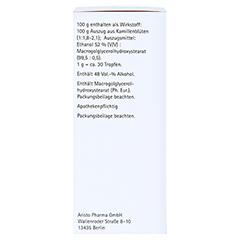 KAMILLAN supra Lösung 100 Milliliter N1 - Linke Seite