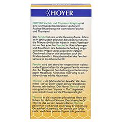 Hoyer Fenchel+thymian Honigsirup 250 Gramm - Rückseite