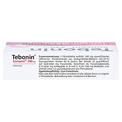 Tebonin konzent 240mg 60 Stück N2 - Oberseite