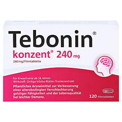 Tebonin konzent 240mg 120 Stück N3 - Vorderseite