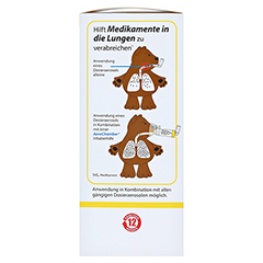 AEROCHAMBER m.Maske f.Kinder 1 Stück - Rechte Seite