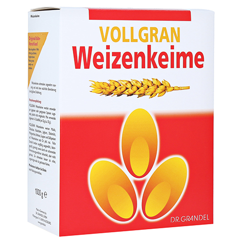 Weizenkeime Vollgran Grandel Kerne 1000 Gramm