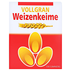 Weizenkeime Vollgran Grandel Kerne 1000 Gramm - Vorderseite