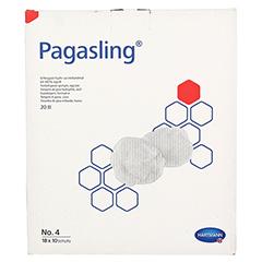 PAGASLING Mulltupfer steril Gr.4 eigroß 18x10 Stück - Vorderseite