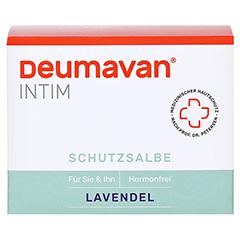 Deumavan Schutzsalbe Lavendel Dose 100 Milliliter - Vorderseite