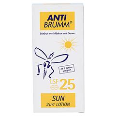 ANTI BRUMM Sun 2 in1 Lotion LSF 25 150 Milliliter - Vorderseite