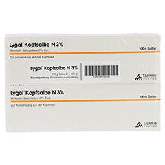 Lygal Kopfsalbe N 3% 200 Gramm - Vorderseite
