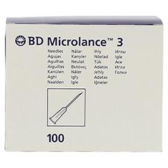 BD MICROLANCE Kanüle 22 G 1 0,7x25 mm 100 Stück - Vorderseite