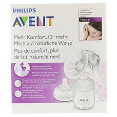 AVENT Komfort Milchpumpe Naturnah 1 Stück - Vorderseite