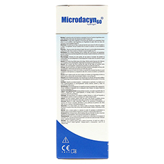MICRODACYN Hydrogel 120 Gramm - Linke Seite