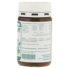 BITTERSTOFF Tabletten 150 Stück - Linke Seite