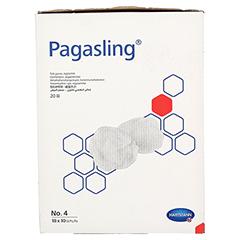 PAGASLING Mulltupfer steril Gr.4 eigroß 18x10 Stück - Rechte Seite