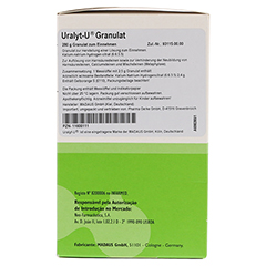 URALYT-U Granulat 280 Gramm N2 - Rechte Seite