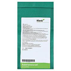 Baldrianwurzel-Tee 250 Gramm - Rückseite