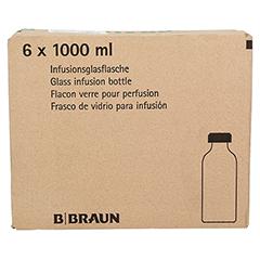 RINGER LÖSUNG B.Braun Glas Infusionslösung 6x1000 Milliliter - Rückseite