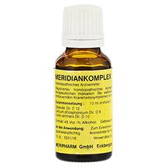 MERIDIANKOMPLEX 10 Tropfen zum Einnehmen 20 Milliliter N1 - Rückseite
