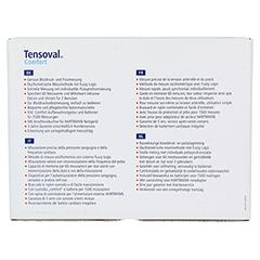 TENSOVAL comfort BD-Gerät m.Zugbügelmansch.22-32cm 1 Stück - Rückseite
