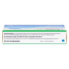 Artelac EDO Augentropfen 30x0.6 Milliliter N1 - Oberseite