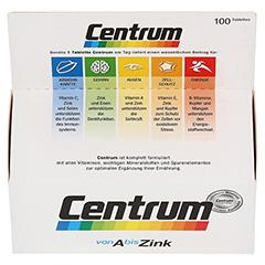 CENTRUM A-Z+Lutein Tabletten 100 Stück - Oberseite