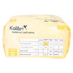 KOLIBRI compact soft Vorlagen anatomisch extra 20 Stück - Oberseite