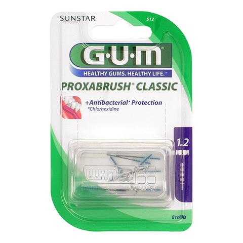 Gum Proxabrush Ersatzbürsten Kerze 8 Stück