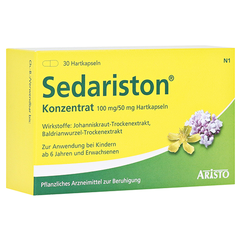 Sedariston Konzentrat 30 Stück N1