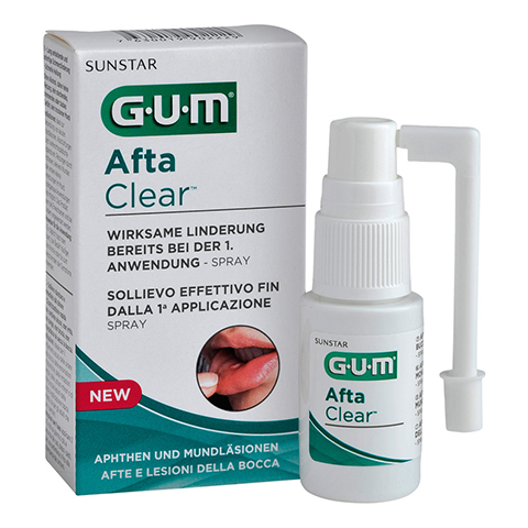 GUM Afta Clear Spray 15 Milliliter