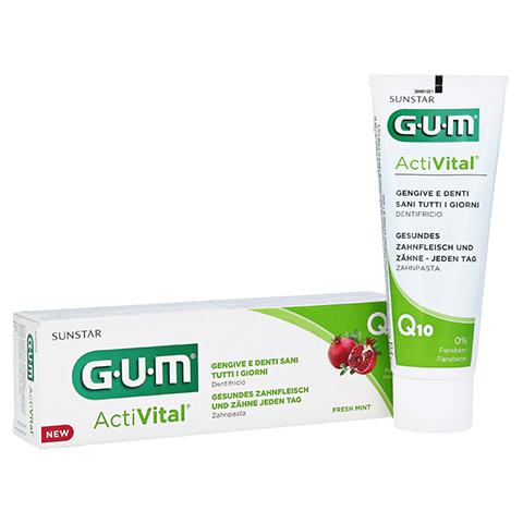 GUM ActiVital Zahnpasta 75 Milliliter