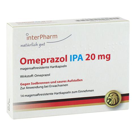Omeprazol IPA 20mg 14 Stück