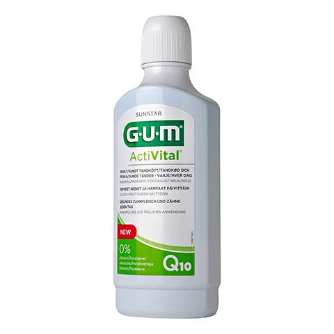 GUM ActiVital Mundspülung 500 Milliliter