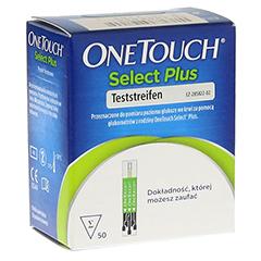 ONE TOUCH Select Plus Blutzucker Teststreifen 50 Stück