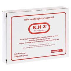 K.H.3 Vitalkomplex Kapseln 30 Stück