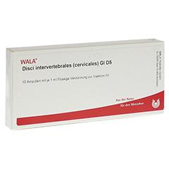 DISCI intervertebrales cervicales GL D 5 Ampullen 10x1 Milliliter N1