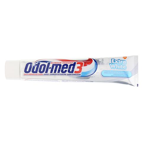 ODOL MED 3 Extra White Zahnpasta 75 Milliliter