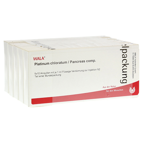 PLATINUM CHLORATUM/PANCREAS comp.Ampullen 50x1 Milliliter N2