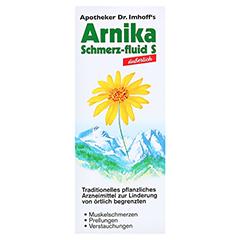 APOTHEKER Dr.Imhoff's Arnika Schmerz-fluid S 500 Milliliter - Vorderseite
